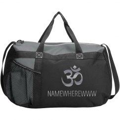 Yoga Class Workout Bag Namewherewww