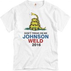 Don't Tread On Me Johnson Weld