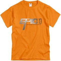 E.P.I.C. 4:13 - Unisex T-Shirt with Chrome Logo