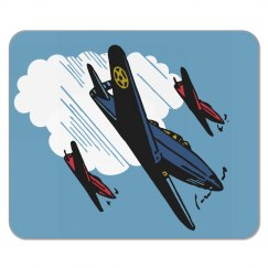 Airplane Mousepad