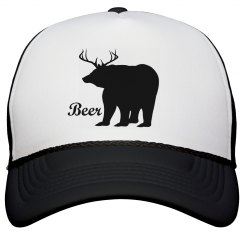 Deer Bear Beer Hat