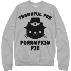 Thankful Pumpkin Pie Cat