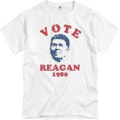 Vote Reagan Retro