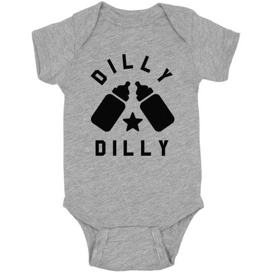 d28280732 Dilly Dilly Bodysuit Infant Fine Jersey Bodysuit