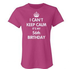 56th Birthday