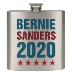 Bernie Sanders 2016 Flask