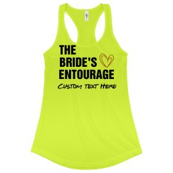 Custom Text Bachelorette Apparel