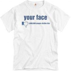 Dislike Your Face
