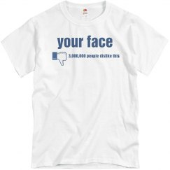 Dislike Your Face