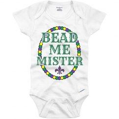 Bead Me Mister Onesie