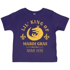 Lil' King Of Mardi Gras