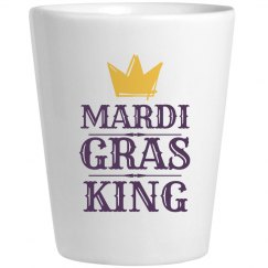 Mardi Gras Drinking King