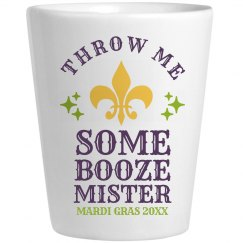 Throw Me Some Booze Mr Mardi Gras