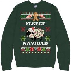 Fleece Navidad Ugly Sweater