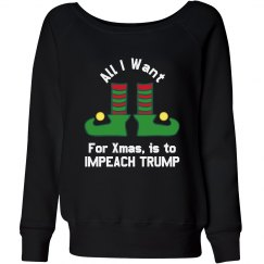 All I want for Xmas is to Impeach Trump