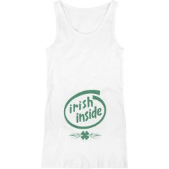 Irish Inside St Patty Maternity Top