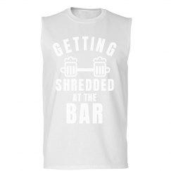 Funny Lifting Shirt Shredded
