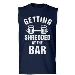 Funny Lifting Shirt Shredded
