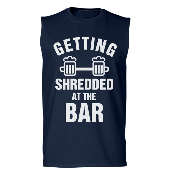 f6032fe07 Funny Lifting Shirt Shredded Unisex Basic Sleeveless T-Shirt