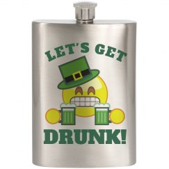 Getting Irish Drunk Emoji