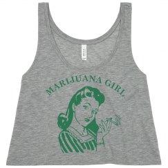 Sassy Marijuana Girl