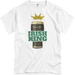 Irish Drinking King St Patricks