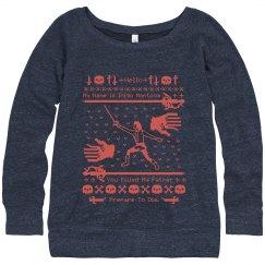 Inigo Montoya Sweater