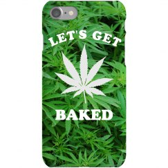 Let's Get Baked Trendy Phone Case