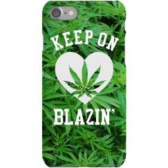 Keep On Blazin' Trendy Phone Case