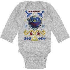 Little Warrior Ugly Bodysuit
