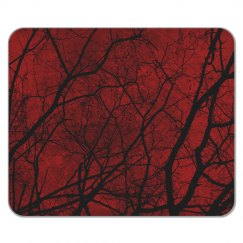 Red Woods Mousepad
