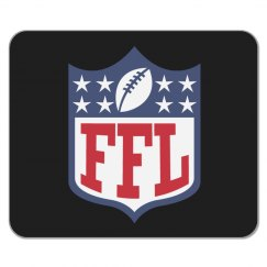 Funny Fantasy Football League Mouse Pad Gift