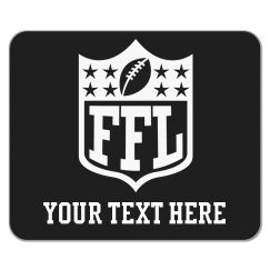 Custom Fantasy Football Team Mousepad Accessory