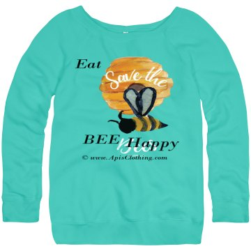Eat HONEY, Bee Happy--- Save The BEEs
