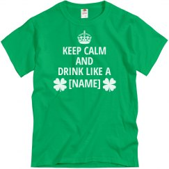 Keep Calm Shamrock