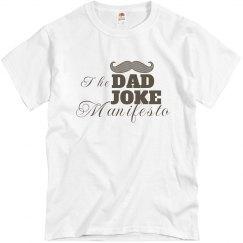 The Dad Joke Manifesto