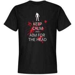 Keep Calm Aim for Head