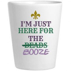 Mardi Gras Here For The Booze
