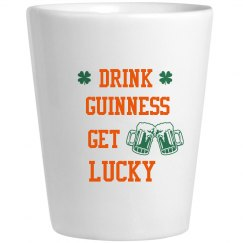 Drink Guinness Get Lucky Drinkware