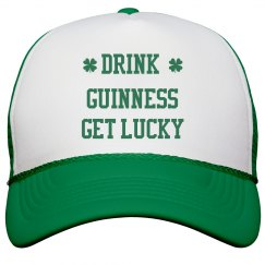 Drink Guinness Get Lucky