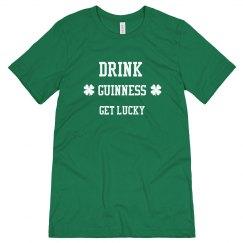 Drink Guinness Get Lucky