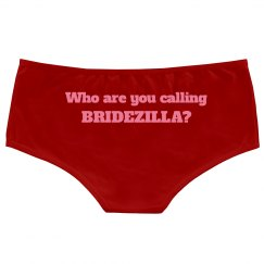 Not a Bridezilla