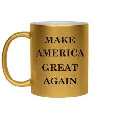 Metallic Make America Great Again