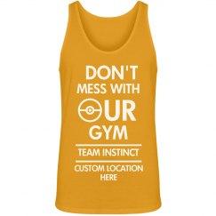 Custom Team Instinct Gym Tank