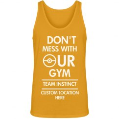 Custom Team Instinct Gym Tank