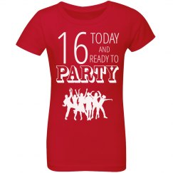 16 today and ready to party