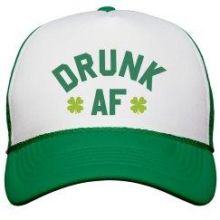 Drunk AF St. Patrick's Day Hat