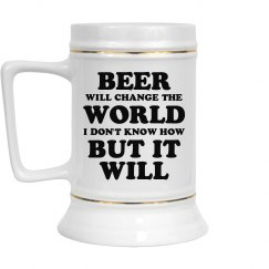 Beer Changes The World