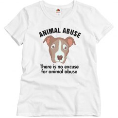 No Excuse 4 Animal Abuse