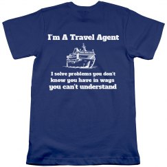I'm a travel agent-men
